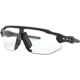 Oakley Radar EV Advancer Sunglasses Unisex, matte black/clear-black photochromic